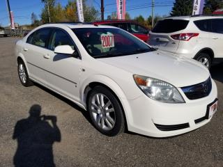 Used 2007 Saturn Aura Xe cuir toit for sale in Mascouche, QC