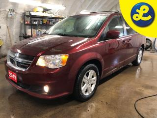 Used 2019 Dodge Grand Caravan Crew Plus * Navigation * Leather * Overhead DVD * Garmin navigation * Stow N Go * Secondrow overhead 9inch VGA video screen * Leatherfaced seats wi for sale in Cambridge, ON