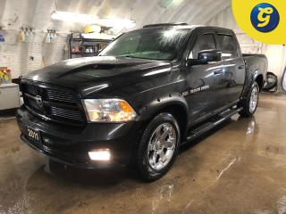 Used 2011 RAM 1500 Sport * 4X4 * Crew Cab * Hemi * Leather * Navigation * Power sunroof * Heated and cooled front seat * Heated mirrors * Tilt steering * Power windows/l for sale in Cambridge, ON