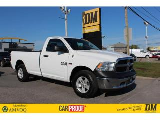 Used 2016 RAM 1500 ST   CABINE REG   4X4   5.7L  A/C CRUISE GR ÉLECT. for sale in Salaberry-de-Valleyfield, QC