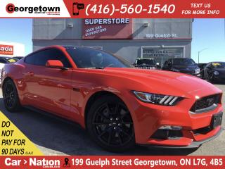 Used 2017 Ford Mustang GT | BACK UP CAM | 5.0L V8 | AUTO | 23,740KM for sale in Georgetown, ON
