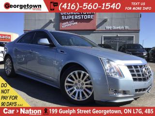 Used 2013 Cadillac CTS Performance|NAVI|PANO ROOF|B/U CAM|61,953KM for sale in Georgetown, ON