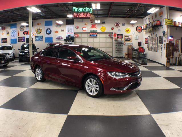 2015 Chrysler 200 LIMITED AUTO A/C CRUISE H/SEAT BLUETOOTH 142K