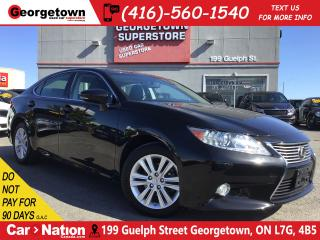 Used 2013 Lexus ES 350 ONE OWNER | 64, 566KM | SUNROOF | LEATHER for sale in Georgetown, ON