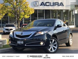 Used 2010 Acura ZDX Tech 6sp at SH-AWD, Rare Find, Navi, Pano Roof for sale in Markham, ON