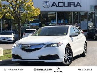 Used 2015 Acura TLX 2.4L P-AWS w/Tech Pkg 8DCT, Navi, Blind Spot Info for sale in Markham, ON