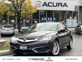 Used 2016 Acura ILX Technology Navi, Backup Cam, Blind Spot Info for sale in Markham, ON