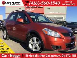 Used 2012 Suzuki SX4 JX | ALL WHEEL DRIVE | ALLOY WHEELS |POWER OPTIONS for sale in Georgetown, ON