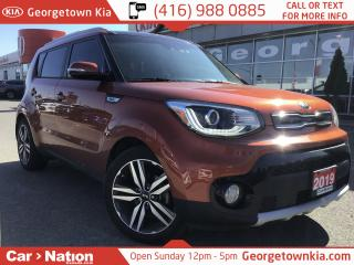 Used 2019 Kia Soul EX LUXURY  PANO ROOF NAV | LEATHER B/U CAM 1 OWNER for sale in Georgetown, ON