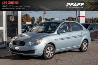 Used 2007 Hyundai Accent 4Dr GL at for sale in Orangeville, ON