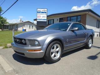 Used 2007 Ford Mustang DECAPOTABLE for sale in Ancienne Lorette, QC