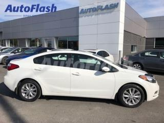 Used 2014 Kia Forte LX *Bluetooth *Extra clean! *Toit-Ouvrant/Sunroof for sale in St-Hubert, QC