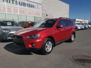 Used 2010 Mitsubishi Outlander LS - V6 - AWD - A/C - 7 PASSAGERS for sale in St-Hubert, QC