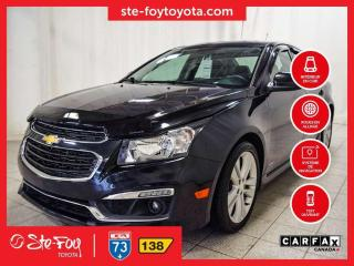 Used 2016 Chevrolet Cruze RS 2LT Cuir, Navigation, Toit ouvrant for sale in Québec, QC