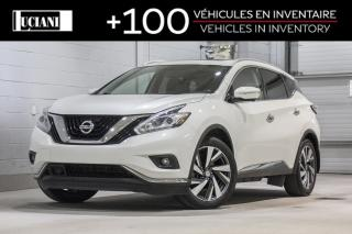 Used 2015 Nissan Murano AWD 4dr Platinum!! BOSE , GPS , 360!! for sale in Montréal, QC