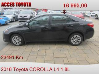 Used 2018 Toyota Corolla LE for sale in Rouyn-Noranda, QC