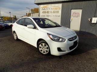 Used 2012 Hyundai Accent ***GL,AUTOMATIQUE,A/C,GROUPES ELECT*** for sale in Longueuil, QC