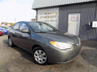 Used 2008 Hyundai Elantra ***GL,AUTOMATIQUE,A/C,GROUPES ELECTRIQUE for sale in Longueuil, QC
