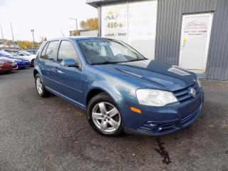 Used 2010 Volkswagen City Golf ***BAS KILOMETRAGE,A/C,GROUPES ELECTRIQU for sale in Longueuil, QC