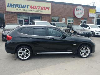 Used 2012 BMW X1 28i X-Drive Black & Tan CERTIFIED! for sale in North York, ON