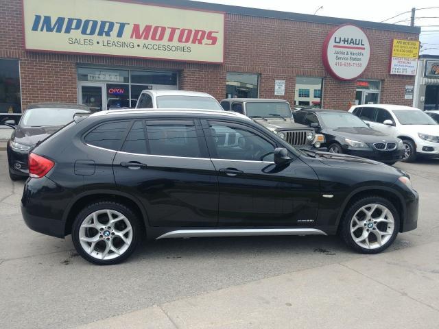 2012 BMW X1 28i X-Drive Black & Tan CERTIFIED!