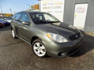 Used 2008 Toyota Matrix ***XR,BAS KILO,AUTOMATIQUE,A/C,MAGS*** for sale in Longueuil, QC