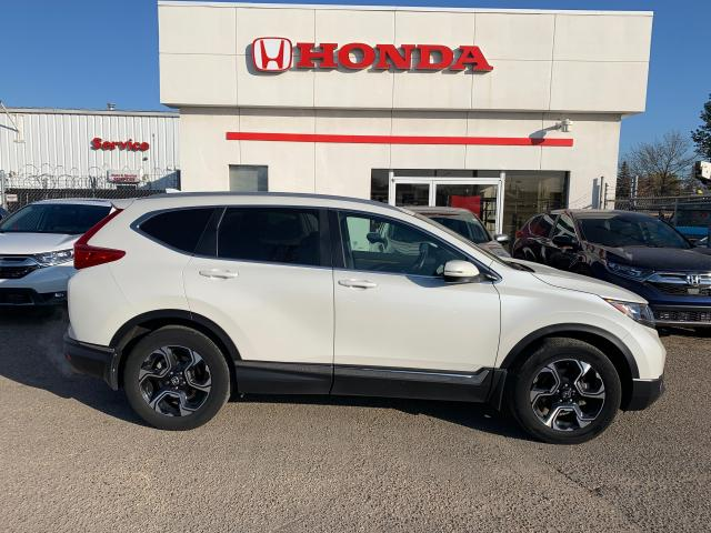 2017 Honda CR-V TOURING AWD LEATHER HEATED SEATS RAINSENSE WIPERS