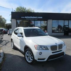 Used 2013 BMW X3 XDRIVE 28I **NAVIGATION** for sale in St-Hubert, QC