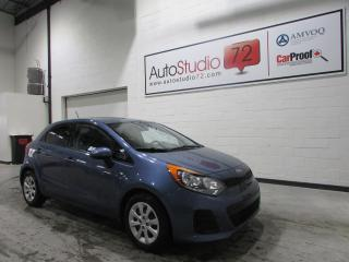 Used 2016 Kia Rio EX GDI **6 VITESSES**CRUISE**BLUETOOTH** for sale in Mirabel, QC