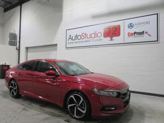 Used 2018 Honda Accord Sport CVT **CUIR**TOIT**MAGS 19''**ANDRO for sale in Mirabel, QC