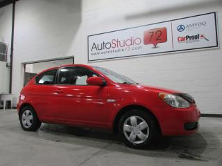 Used 2009 Hyundai Accent Hayon 3 portes, boîte manuelle, L for sale in Mirabel, QC