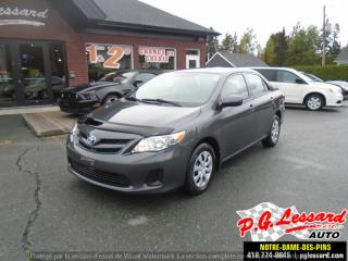 Used 2011 Toyota Corolla CE for sale in St-Prosper, QC