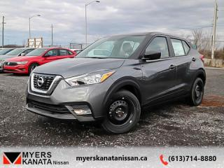 New 2019 Nissan Kicks S FWD  -  Touch Screen -  Fog Lights - $130 B/W for sale in Kanata, ON