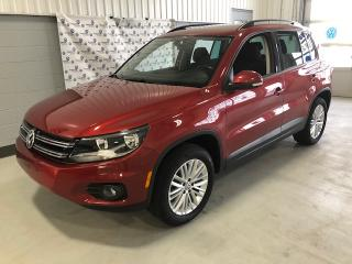 Used 2016 Volkswagen Tiguan SE 4MOTION + TOIT (75$ PAR SEM)* for sale in Chicoutimi, QC