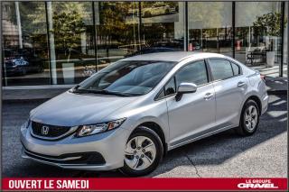 Used 2014 Honda Civic LX - Air clim - Bluetooth - Cruise control - for sale in Ile-des-Soeurs, QC