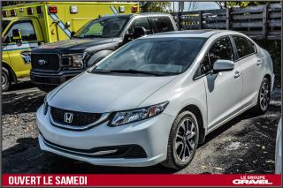 Used 2015 Honda Civic EX - Toit ouvrant - Mags Honda - Caméra recul - for sale in Ile-des-Soeurs, QC