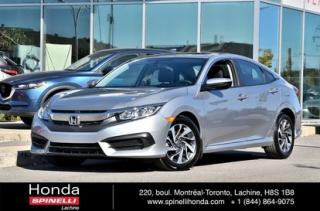 Used 2016 Honda Civic EX AUTO TOIT BAS KM AUTO TOIT MAGS BLUETOOTH BAS KM for sale in Lachine, QC