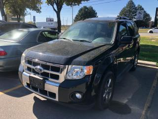 Used 2009 Ford Escape Limited 4WD, Leather, Roof, Bluetooth for sale in Vaughan, ON