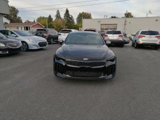 Used 2018 Kia Stinger GT Limited w/Red Interior for sale in Mcmasterville, QC