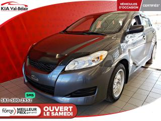 Used 2010 Toyota Matrix *BASE*AIR*LECTEUR CD* for sale in Québec, QC
