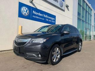 Used 2016 Acura MDX Elite Pkg SH-AWD for sale in Edmonton, AB