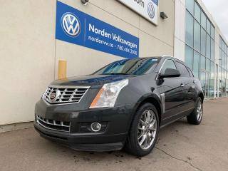 Used 2015 Cadillac SRX PREMIUM AWD - LEATHER HEATED WHEEL / SEATS / NAVI for sale in Edmonton, AB