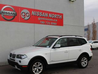 Used 2010 BMW X3 28i/AWD/HEATED WHEEL/PANO ROOF for sale in Edmonton, AB