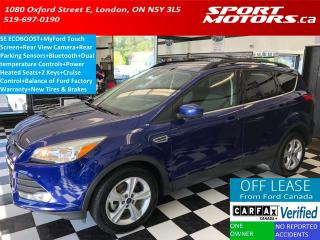 Used 2015 Ford Escape SE+New Tires & Brakes+Bluetooth+Camera+Sensors for sale in London, ON
