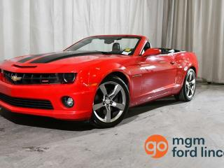 Used 2012 Chevrolet Camaro 2SS RWD CONVERTIBLE for sale in Red Deer, AB