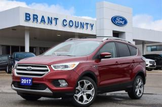 Used 2017 Ford Escape Titanium for sale in Brantford, ON
