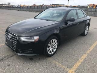 Used 2013 Audi A4 TURBO for sale in Mississauga, ON