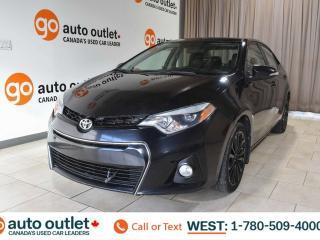 Used 2015 Toyota Corolla FWD, 1.8, S, 4I, Bluetooth, Heated Seats, Backup Camera for sale in Edmonton, AB