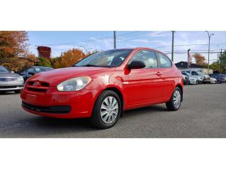 Used 2009 Hyundai Accent MAN L for sale in St-Jérôme, QC