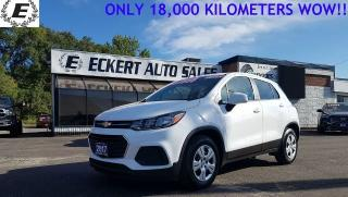 Used 2017 Chevrolet Trax LS / ONLY 18,000 KILOMETERS! for sale in Barrie, ON